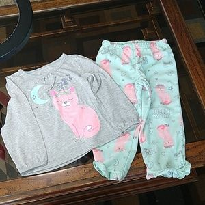 just one you, girl's pajama set